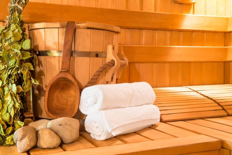 Franze Aqua & Wellness OHG in Schönebeck, wooden Finnish sauna,